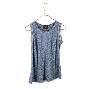 Anthropologie W5 • Boho Americana Print Tape Tank.